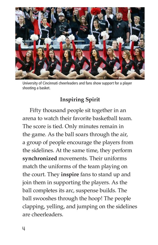 Book Preview For Cheerleading Page 4