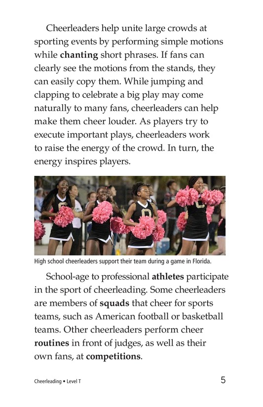 Book Preview For Cheerleading Page 5