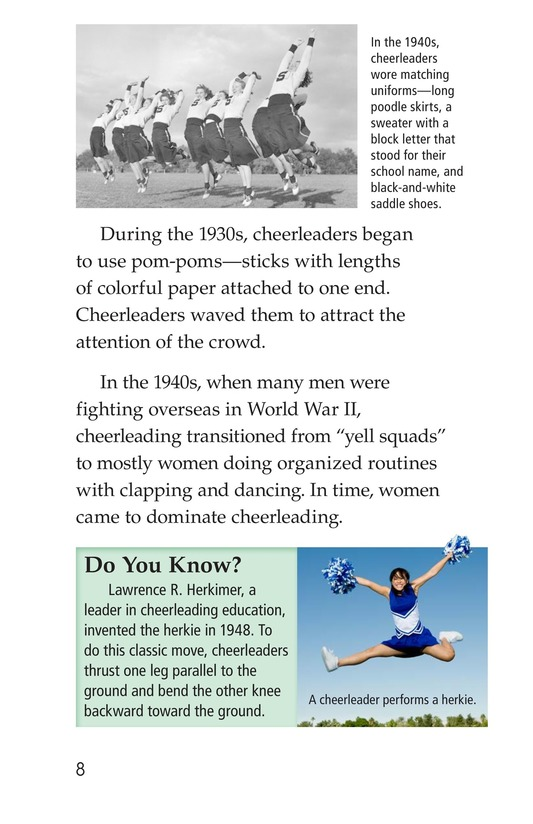 Book Preview For Cheerleading Page 8
