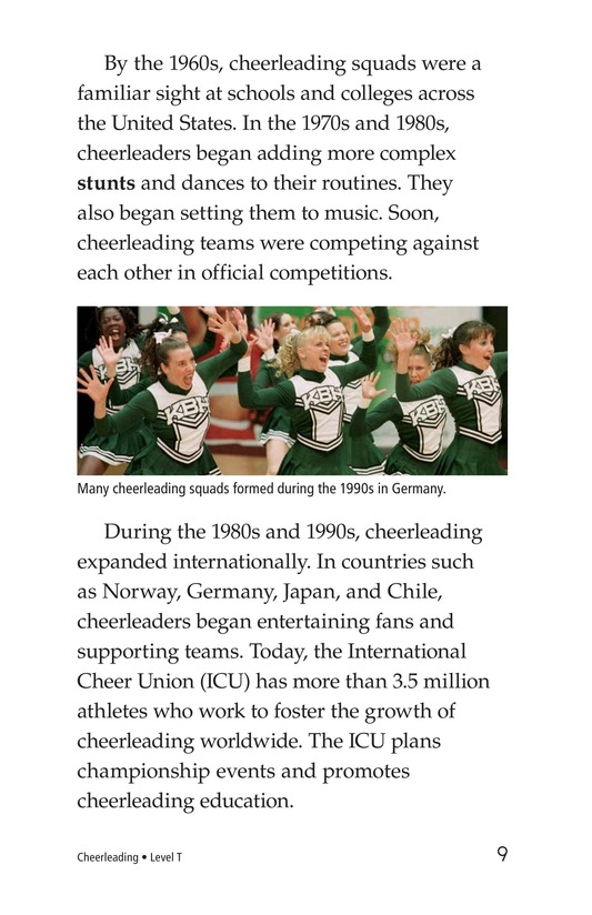 Book Preview For Cheerleading Page 9