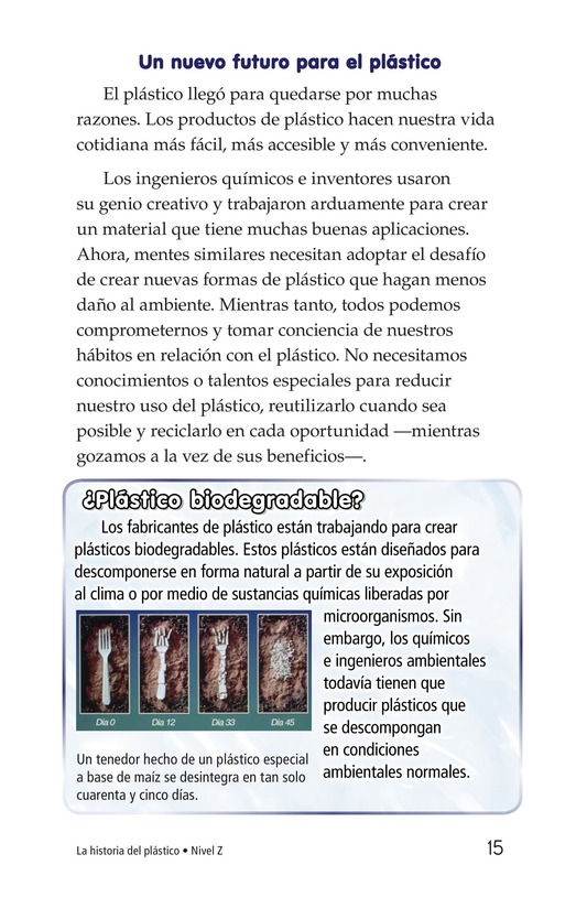 Book Preview For The Story of Plastic Page 15