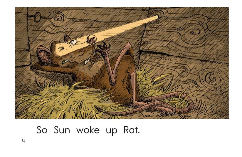 Book Preview For Wake Up, Rooster! Page 4