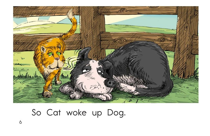 Book Preview For Wake Up, Rooster! Page 6