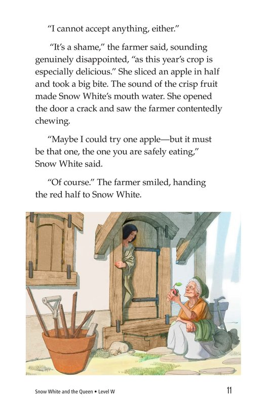 Book Preview For Snow White and the Queen Page 11