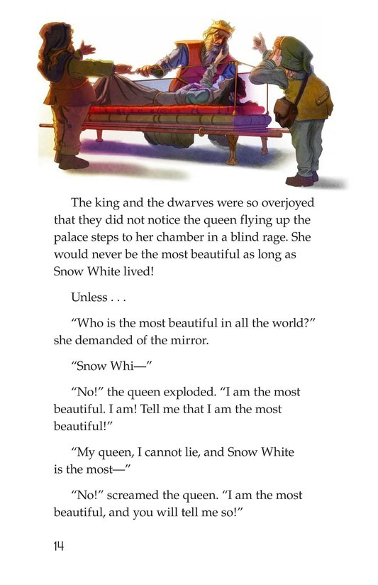Book Preview For Snow White and the Queen Page 14