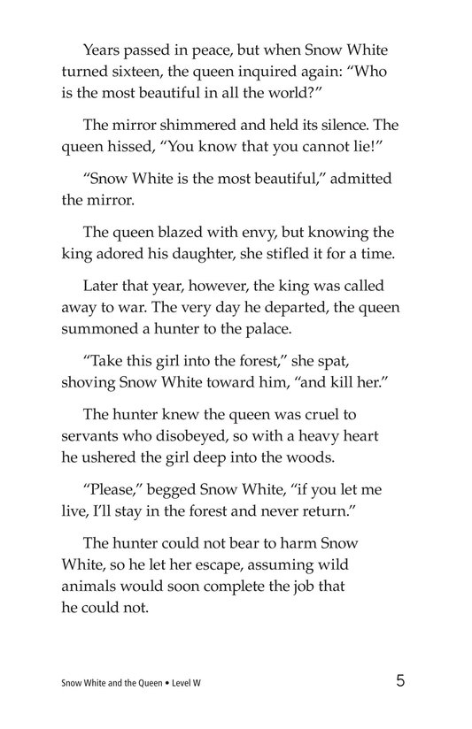 Book Preview For Snow White and the Queen Page 5