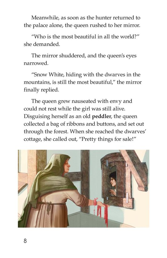 Book Preview For Snow White and the Queen Page 8