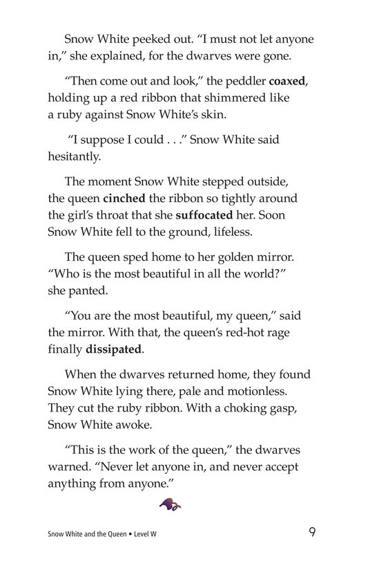 Book Preview For Snow White and the Queen Page 9