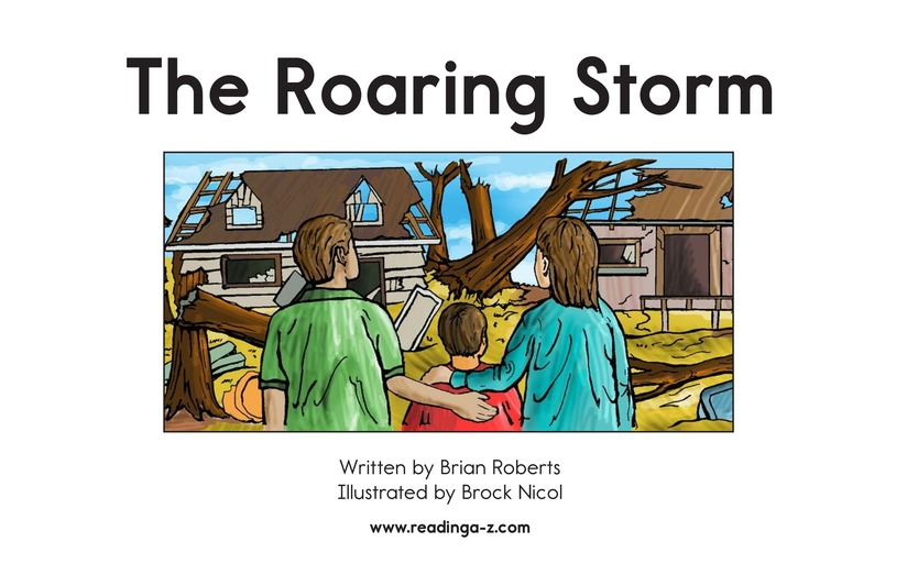 Book Preview For The Roaring Storm Page 2