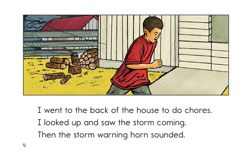 Book Preview For The Roaring Storm Page 4