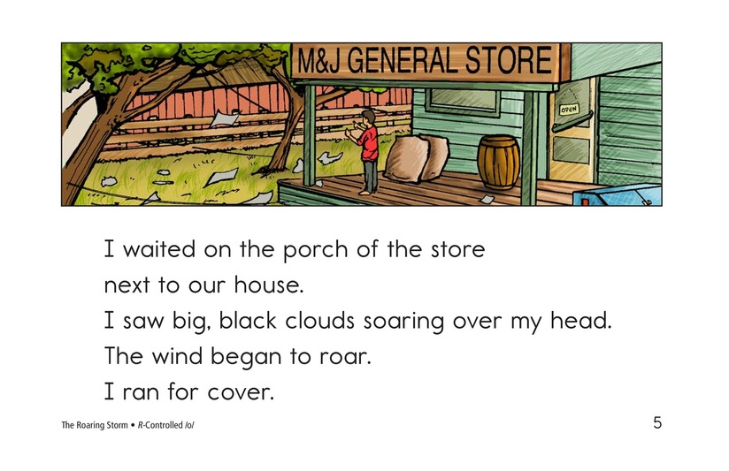 Book Preview For The Roaring Storm Page 5