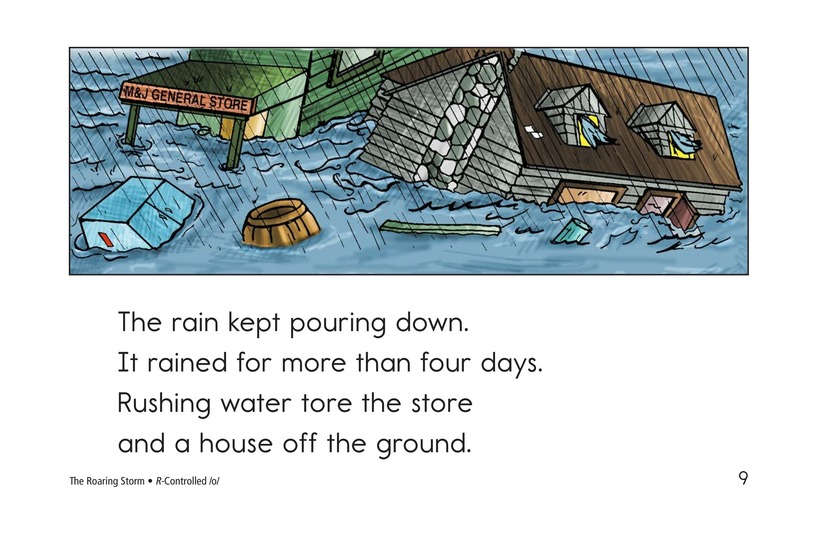 Book Preview For The Roaring Storm Page 9