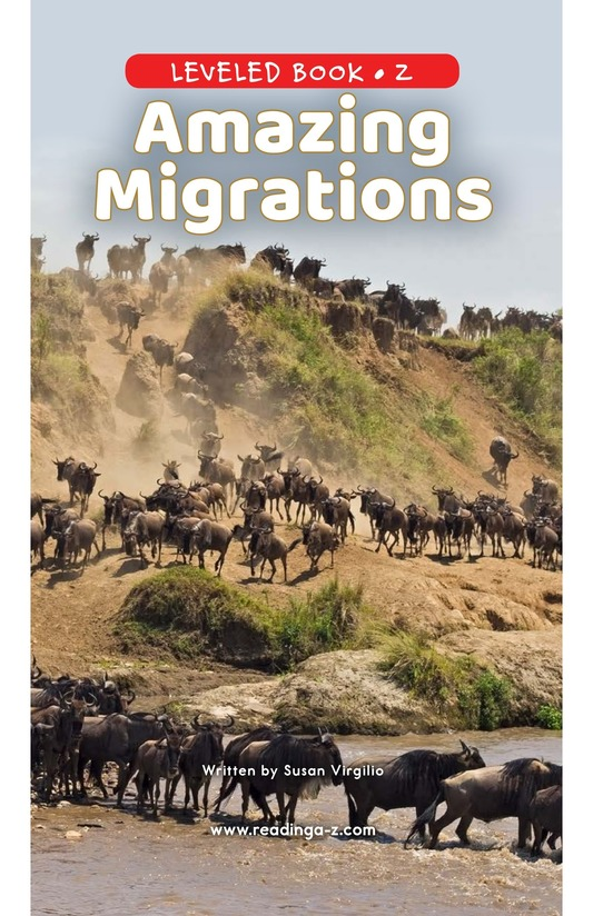 Book Preview For Amazing Migrations Page 0