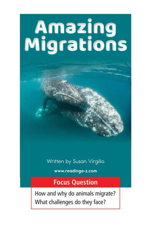 Book Preview For Amazing Migrations Page 1