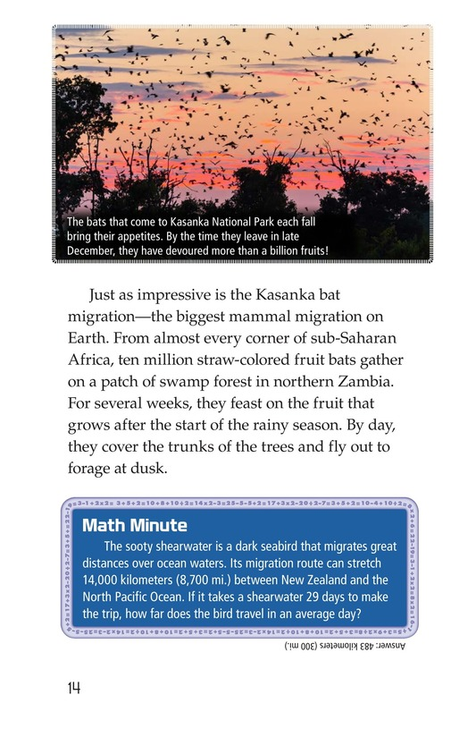 Book Preview For Amazing Migrations Page 14
