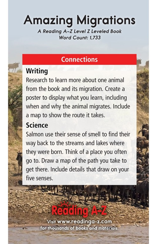Book Preview For Amazing Migrations Page 21