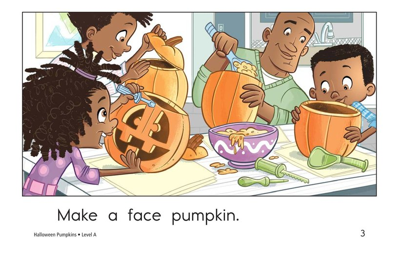 Book Preview For Halloween Pumpkins Page 3