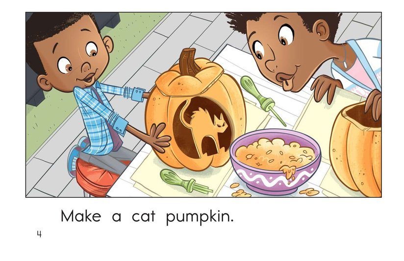 Book Preview For Halloween Pumpkins Page 4