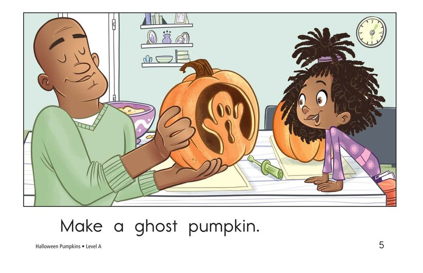 Book Preview For Halloween Pumpkins Page 5