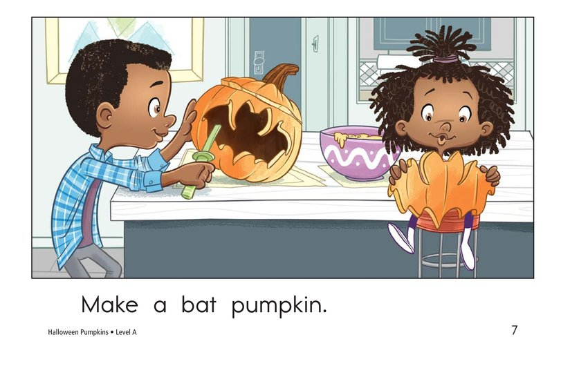 Book Preview For Halloween Pumpkins Page 7