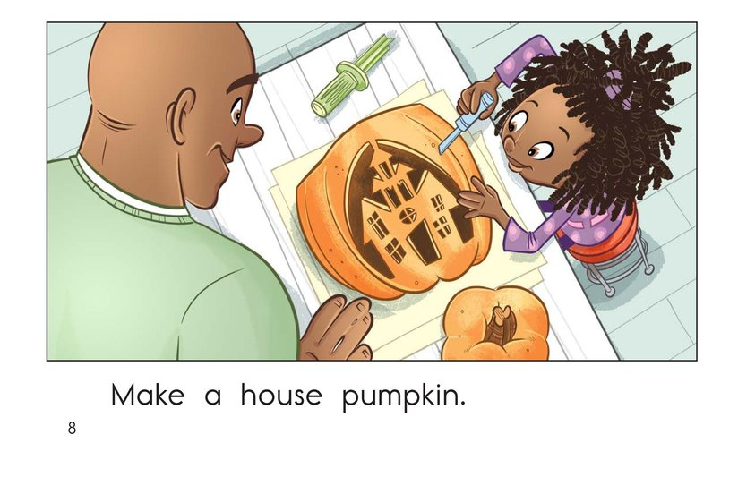 Book Preview For Halloween Pumpkins Page 8