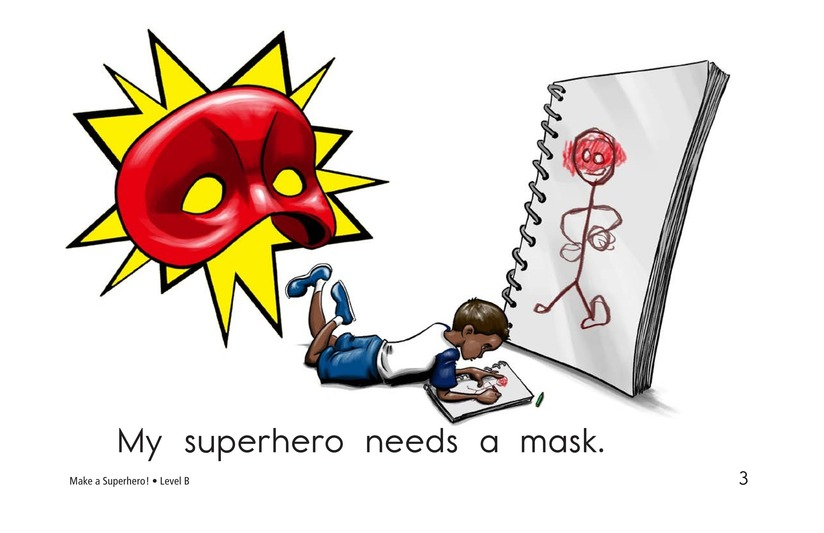 Book Preview For Make a Superhero! Page 3