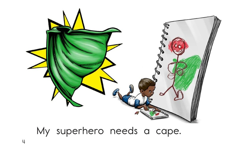 Book Preview For Make a Superhero! Page 4