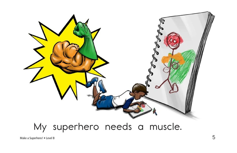 Book Preview For Make a Superhero! Page 5