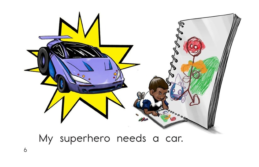 Book Preview For Make a Superhero! Page 6