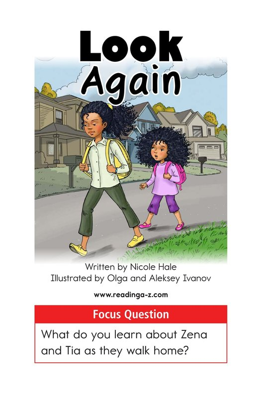 Book Preview For Look Again Page 1