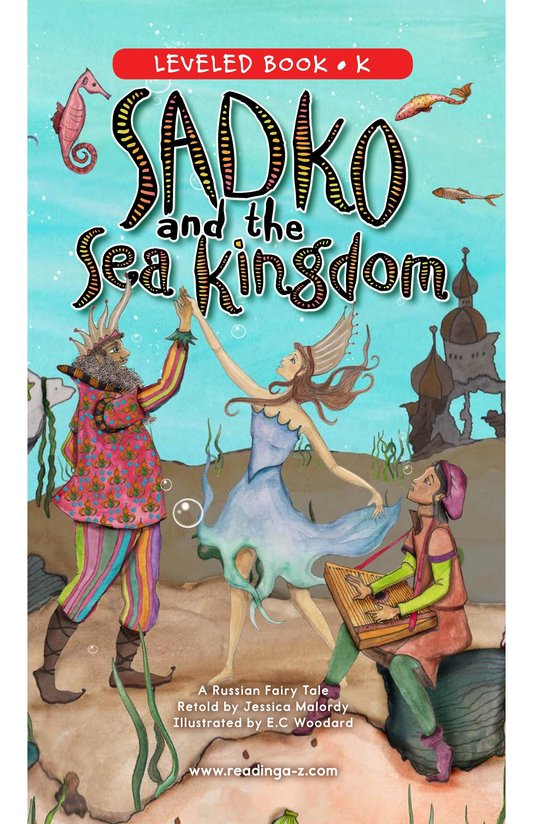 Book Preview For Sadko and the Sea Kingdom Page 0