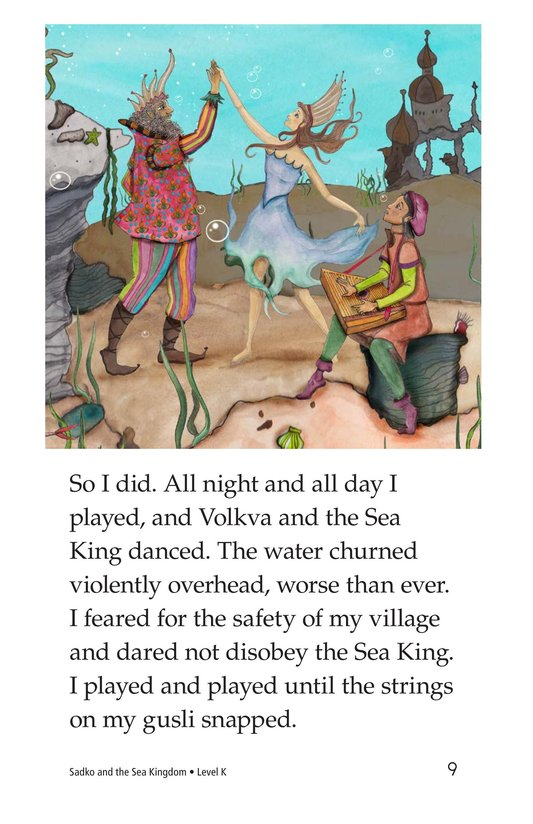 Book Preview For Sadko and the Sea Kingdom Page 9