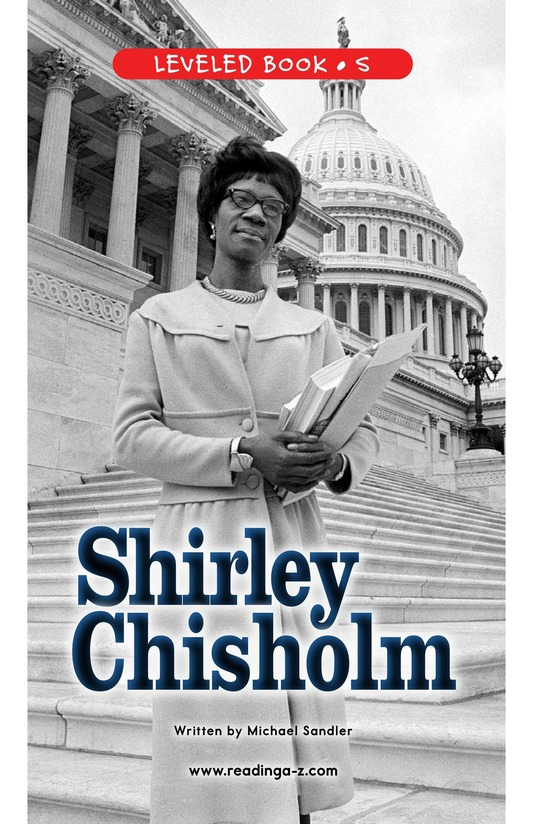 Book Preview For Shirley Chisholm Page 0