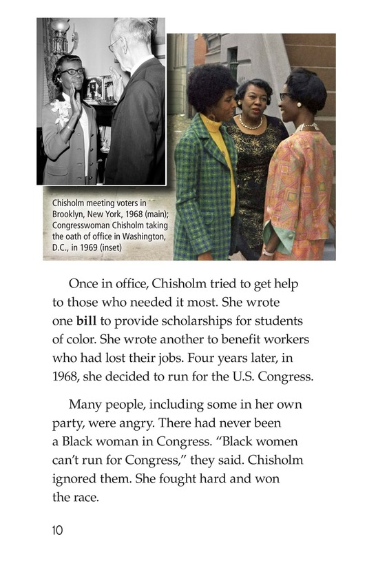 Book Preview For Shirley Chisholm Page 10