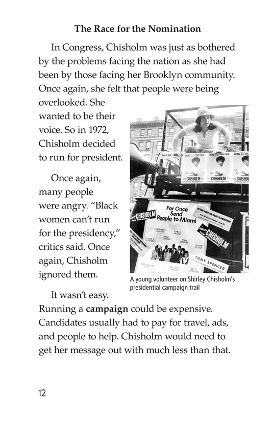 Book Preview For Shirley Chisholm Page 12