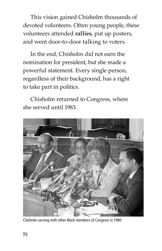 Book Preview For Shirley Chisholm Page 14