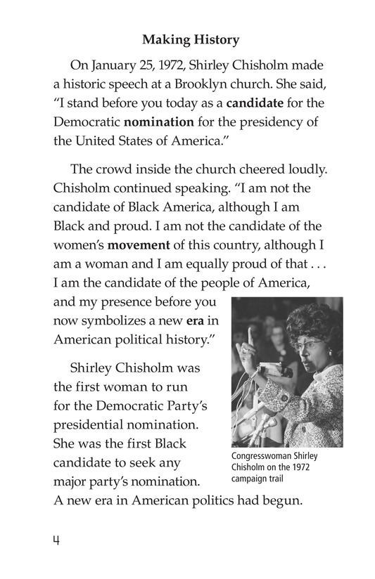 Book Preview For Shirley Chisholm Page 4