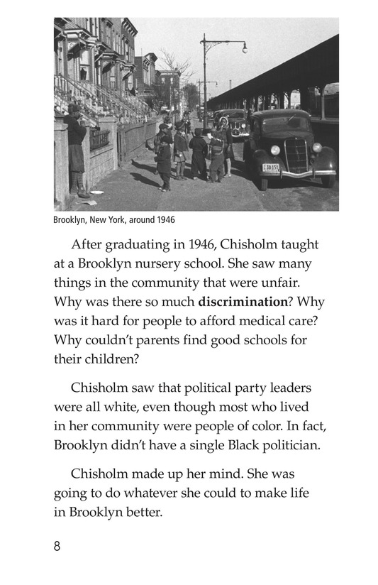 Book Preview For Shirley Chisholm Page 8