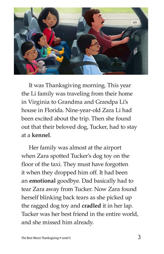 Book Preview For The Best Worst Thanksgiving Page 3
