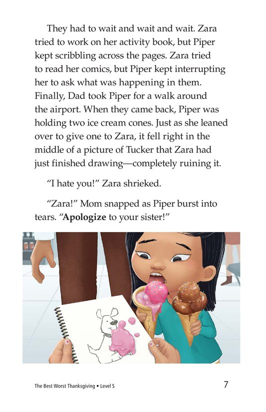 Book Preview For The Best Worst Thanksgiving Page 7