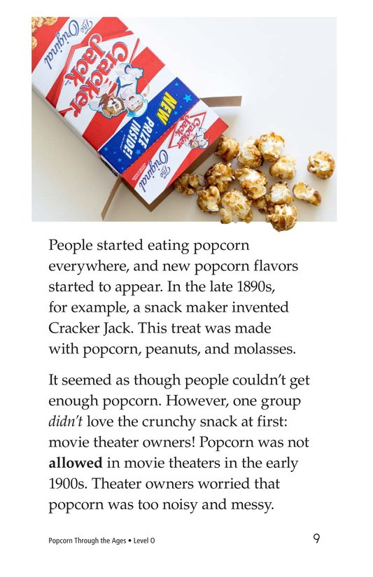 Book Preview For Popcorn Through the Ages Page 9