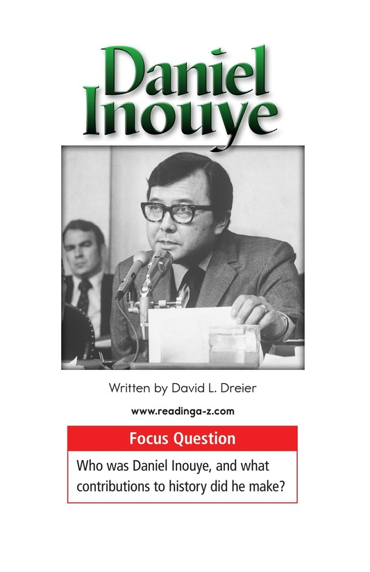 Book Preview For Daniel Inouye Page 1