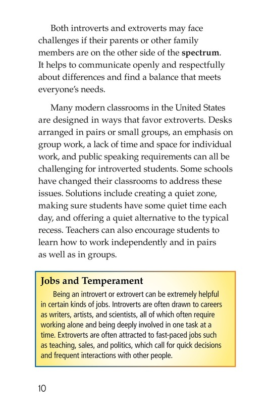 Book Preview For Introverts and Extroverts Page 10