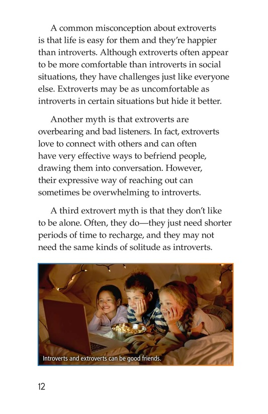 Book Preview For Introverts and Extroverts Page 12