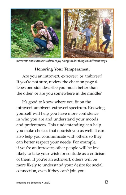 Book Preview For Introverts and Extroverts Page 13