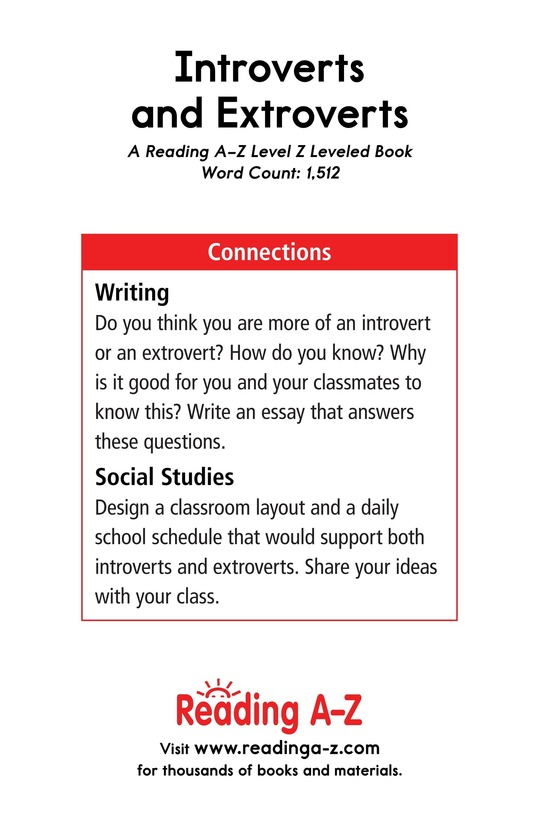 Book Preview For Introverts and Extroverts Page 17