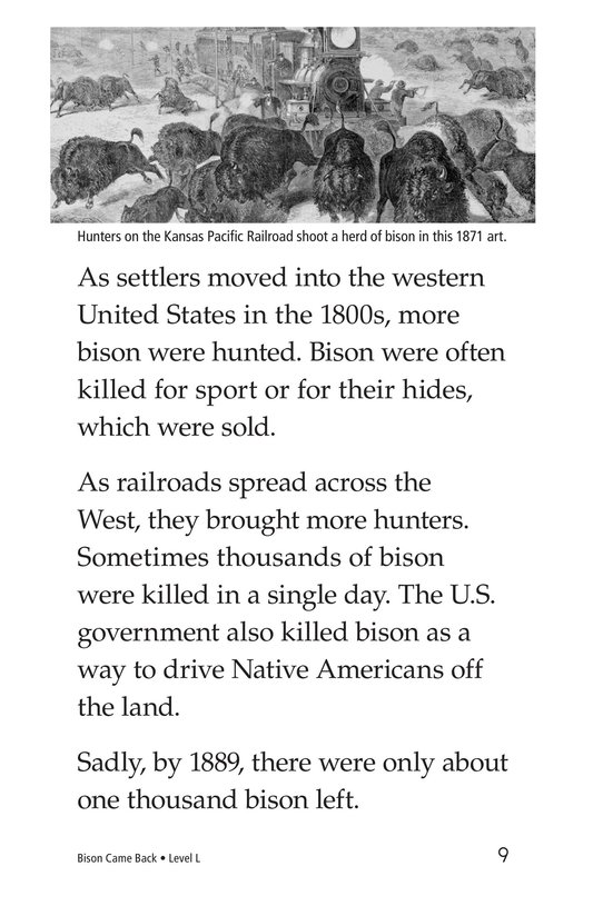 Book Preview For Bison Came Back Page 9