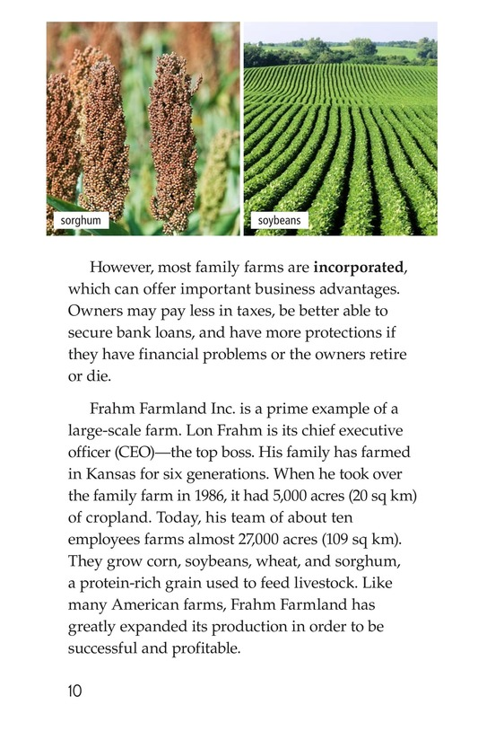 Book Preview For American Farms: Past, Present, and Future Page 10