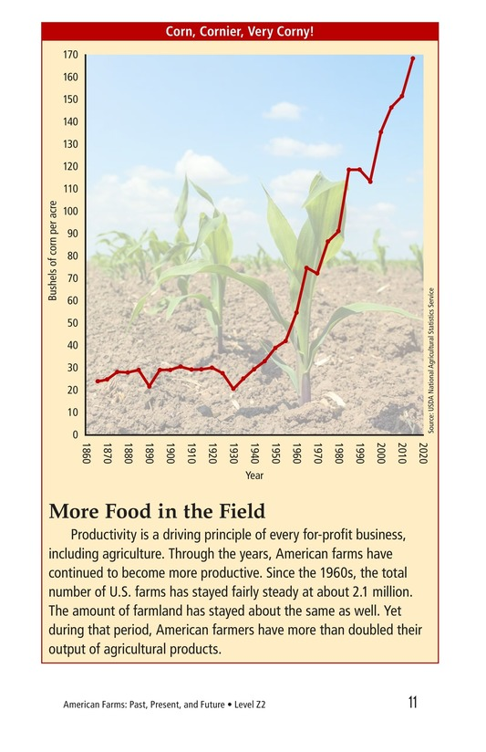 Book Preview For American Farms: Past, Present, and Future Page 11