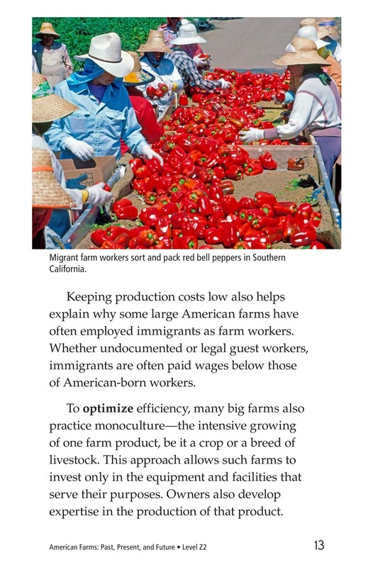 Book Preview For American Farms: Past, Present, and Future Page 13